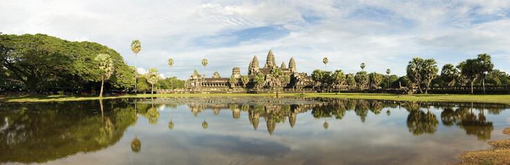 Angkor Wat Temple Panoramic, Cambodia