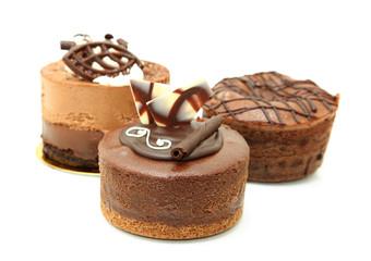 Trio Of Chocolate Tarts