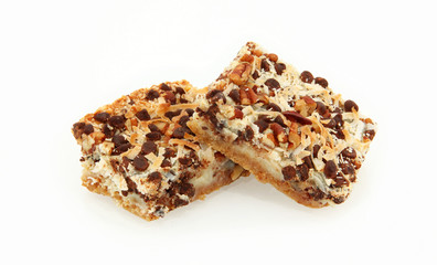 Side View Of Magic Cookie Bars