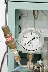 Pressure release valve and pressure gage
