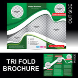 Tri Fold Global Business Brochure