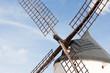 Windmills of Consuegra in La Mancha region of central Spain.