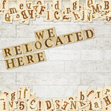 we relocated here poster