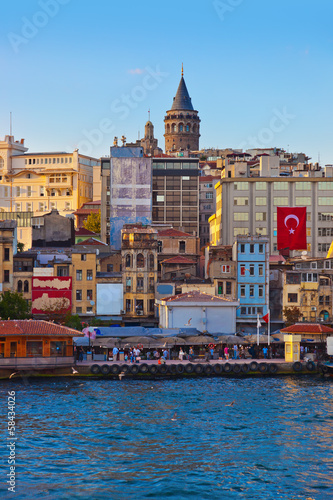 Istanbul Turkey at sunset