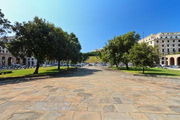 Genova - Piazza della Vittoria