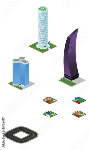 Isometric City Misc Buildings And Houses Pack