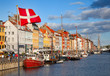 Copenhagen (Nyhavn district) in a sunny summer day - 58438217