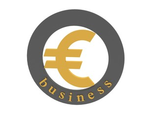 sign business euro