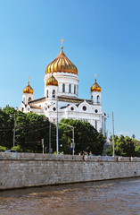 Cathedral of Christ the Saviour near Moskva river, Moscow, Russi