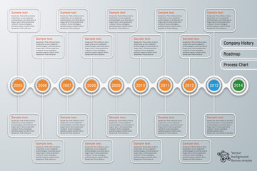 Infographics Background Company History