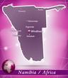 Namibia Abstrakter Hintergrund in Violett