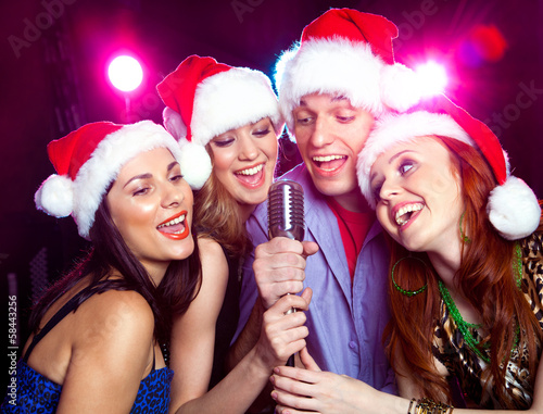 christmas party - 58443256