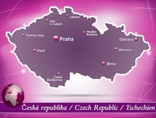 Tschechien Abstrakter Hintergrund in Violett
