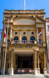 The Astra theatre facade in Victoria, Gozo, Malta