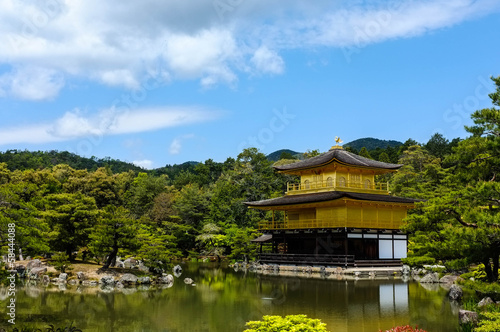 Ginkakuji Temple in Kyoto, Japan