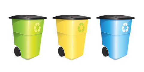 Garbage Container Set
