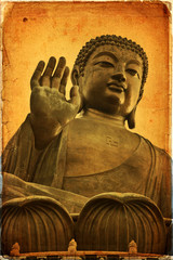 The Great Buddha of Po Lin Monastery - Hong Kong