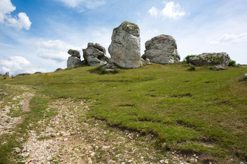 Limestone in Poland