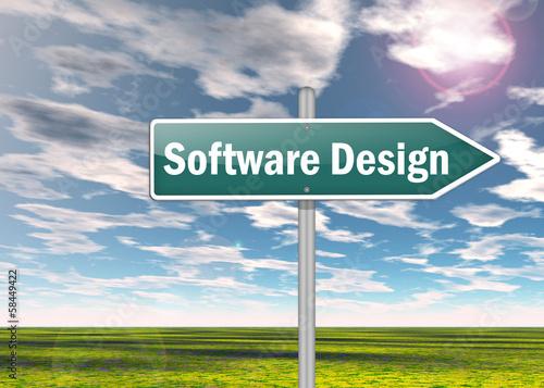 "Signpost ""Software Design"""