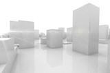 abstract blocks city - 58450249