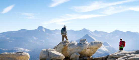 Randonneurs dans le Yosemite