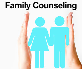 Family counseling concept