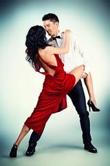 dancing passionate