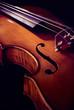 Detail einer Geige