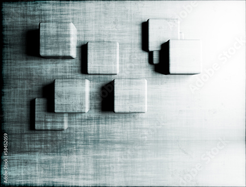 Abstract 3d artistic background