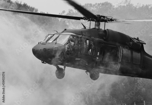 UH-60 Blackhawk Helicopter Plakat
