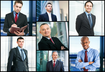 Businessmen portraits