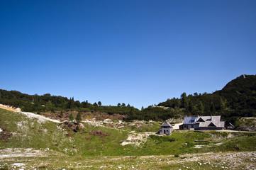 Nationalpark Triglav - Berghütte