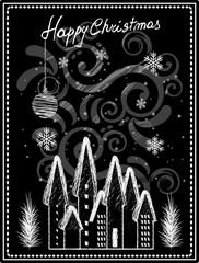 Natale - Lavagna