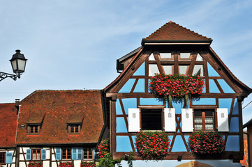Alsazia, il villaggio di Eguisheim