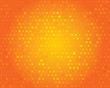 Orange geometric background. Abstract pattern.