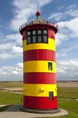 Lighthouse on damm