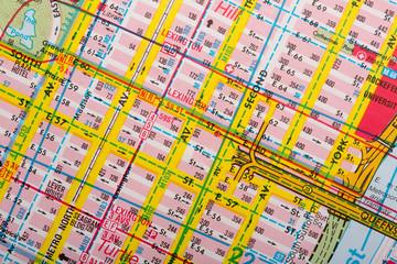 tourist street map