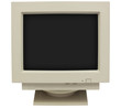 Old CRT Monitor - 58457658