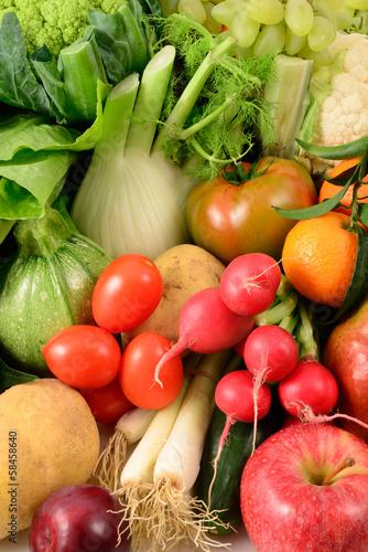 Poster Fresh vegetables