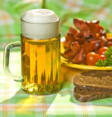 The mug of beer