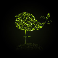 Go Green Bird