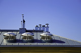 Nowoczesne okna dachowe architektura - 58460465