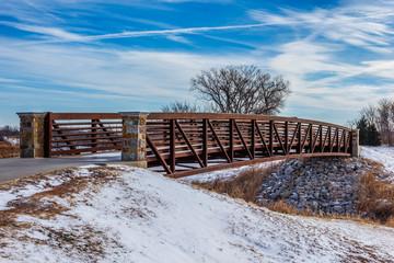 Walk Across Bridge