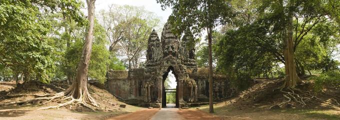 Noth Gate Angkor Thom, Angkor Wat, Cambodia
