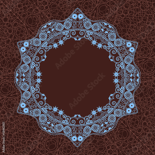 Abstrac Decoration Mandala