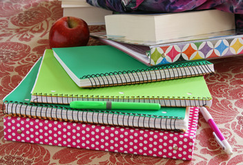 School Notebooks and Binders