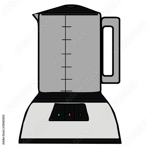 vector drawing of a blender
