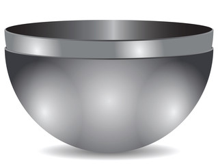 Two bowls of steel