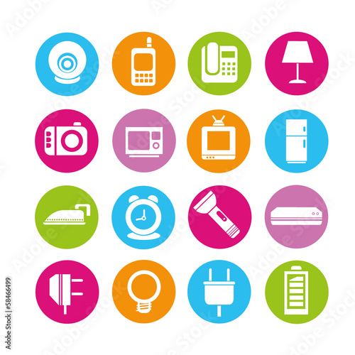 electronics device icons