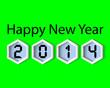Happy New Year 2014, Card